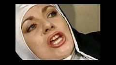 Nuns hairy black cumshot