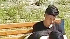 Uzbek in public