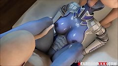 Sexy ass Andromeda babes fucked hard and raw