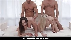 Hot Mormon Sisters Family Breeding Groupsex With President