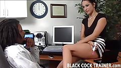 I am going to give my hung black boss a blowjob's Thumb