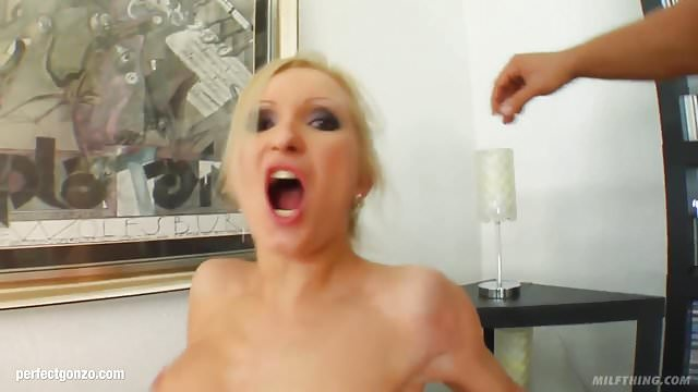 Preview 1 of MILF mature hottie Angelina W fucked hard in gonzo style at