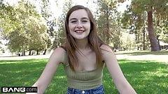 Real Teens - Tiny teen Danni Rivers pov sex session