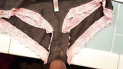 Grey&pink panties part 1