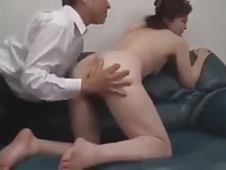 Japanese milf in bondage action.