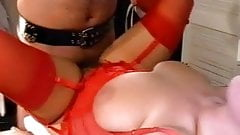 Absolut hoerig busty brunette threesome german retro 90's