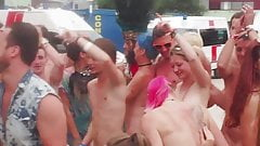 Nude at festival