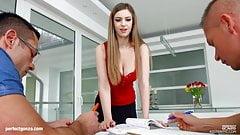 Stella Cox big tit anal hardcore gonzo scene by Ass Traffic