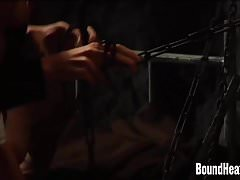 Hard Whipping And Punishment For Lesbian Slave