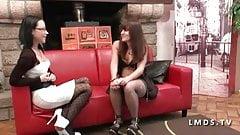 Casting jeune brunette sodomisee dans La Maison du Sexe