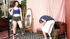 sex pormo ballbusting board