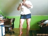 boy in sexy mini skirt