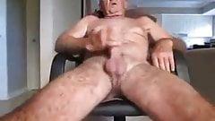 Older grandpa masturbating