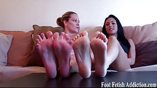 I know you have a serious foot fetish