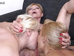 Taboo lesbian sex with old and young lesbians