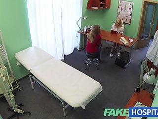 Sexual voyeurism - Fakehospital naughty blonde nurse sexually seduces