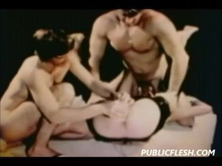 Retro Homosexual BDSM And Fisting