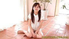 Japanese teen pussylicked before facial