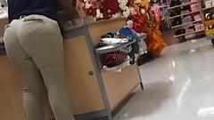 Wal-Mart Creep shots huge ass employee part 2