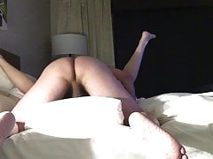 Hairy cock in her hairy pussy