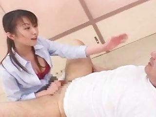 Jaanese Teacher Fucks Student With Strap On