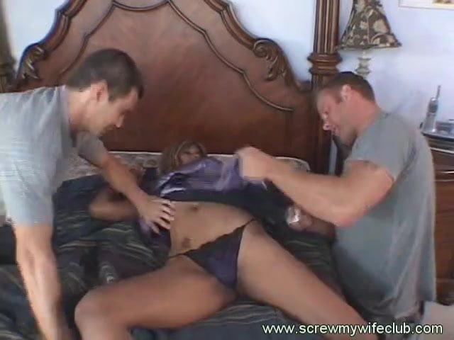 Desperate penis of husband tight