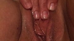 Wife masterbating to orgasm