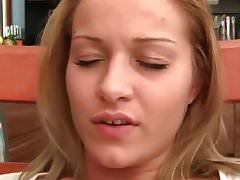 Cute Blonde Spreads Legs For Hot Oral Action And Fuck