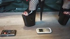 Lady L crush 3 cellphone.