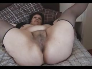 Busty Mature Bbw With Big Hairy Pussy