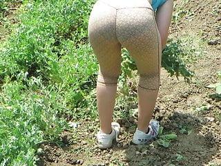 Young Neighbor In The Garden