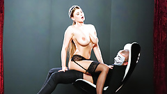 LETSDOEIT - Busty Czech Maid Rides Cock Passionately