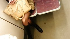 candid pantyhose in metro 482