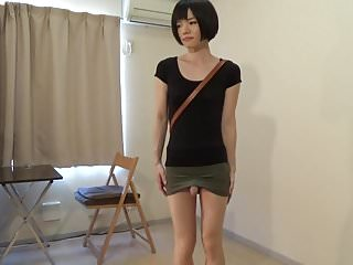 Preview 3 of crossdresser wearing a mini skirt