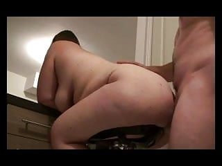 Ass mount round - Chair mounted bbws ass creampie