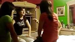4 babes latina lesbian kissing