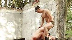 Chained Boy Is Dominated