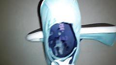 Lecker meine Schuhe bespritzt