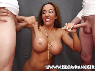 6 Amateur Guys Get Sucked Off By Bonafied Pornstar