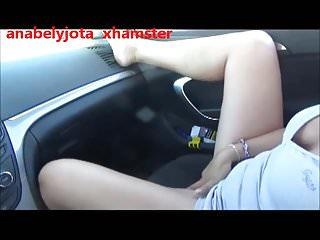 OUTDOOR SEX IN THE CAR- SEXO EN EL COCHE