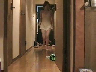 Naked At Door 1