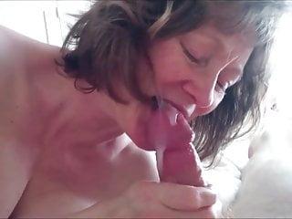 Mature Beauty Sucking For Cum