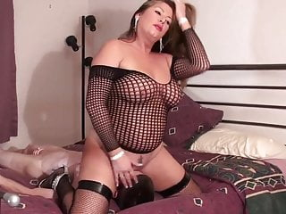 Preview 3 of step mom face fucks cuck of NOT her son