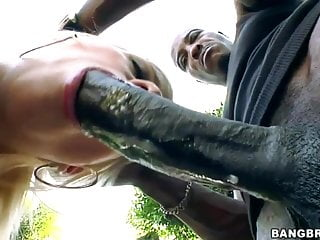 Jessie Volt Gets Anal From Huge Black Cock