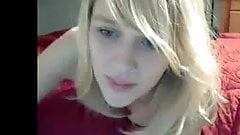 Blond Amateur Fuck in front of Webcam