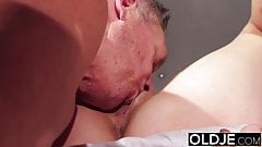 Young pussy licking compilation young old porn grandpa fucks