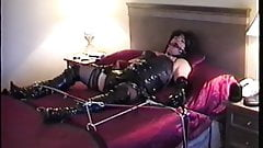 Little Miss Christi Tied Up in Vinyl