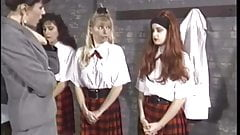 Girls school spanking part 1