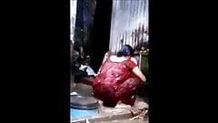 Bangladeshi Boudi Caught by PeepingTom