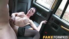 Big fake tits brunette Skyler